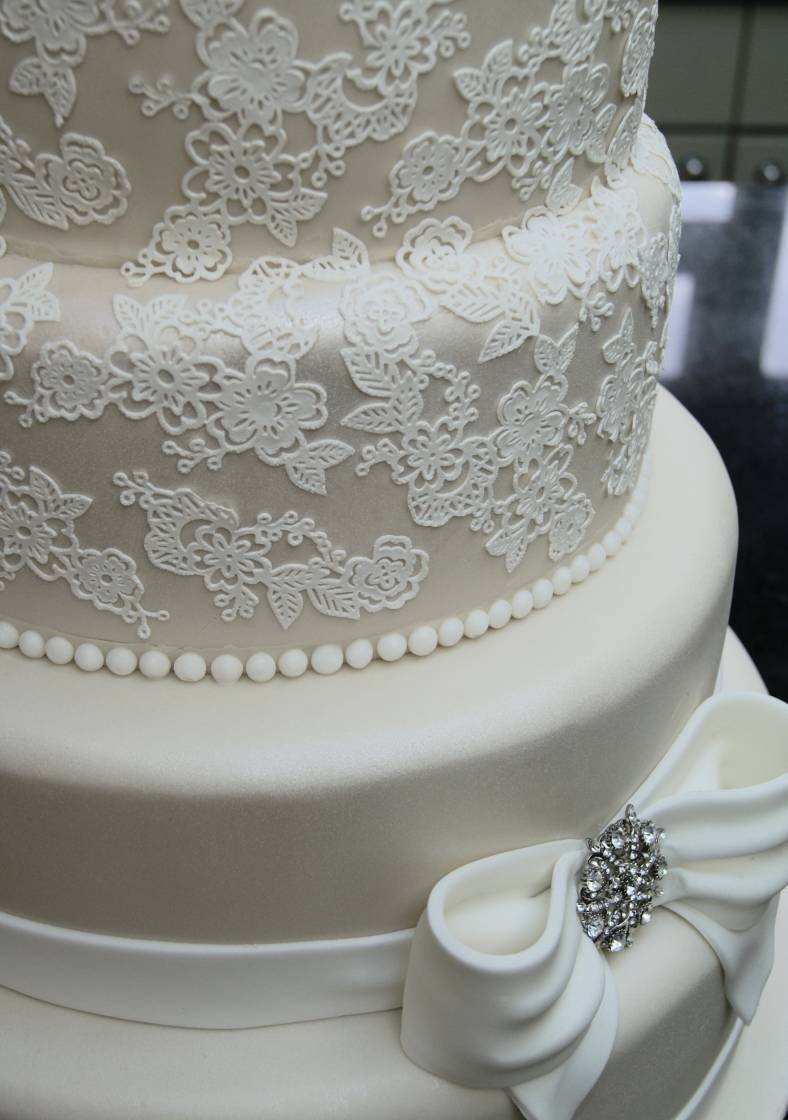 Lace Wedding Cakes Hall Of Cakes