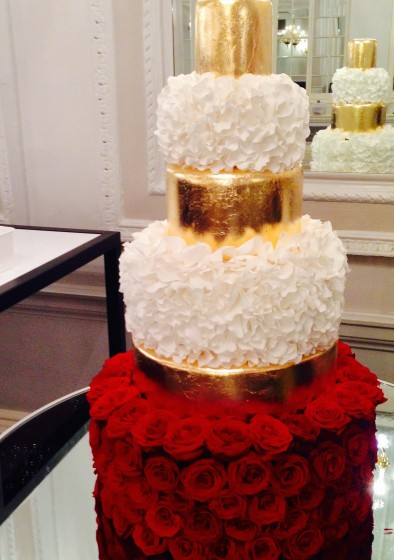 Gold Wedding Cakes! - Hall of Cakes