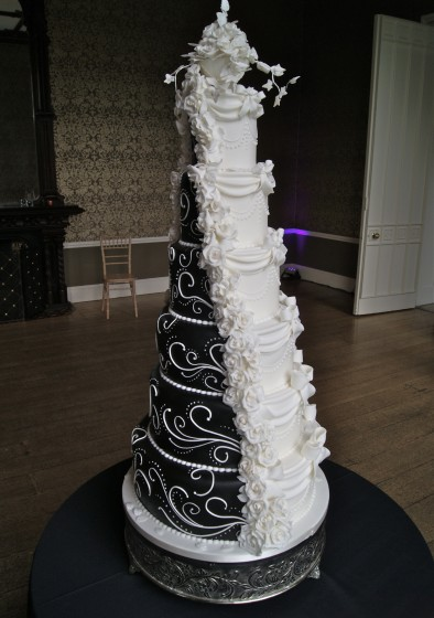 how do you make a fake wedding cake dummy tiers in wedding cakes of cakes 15389